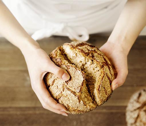 Hausgemachtes Brot Kleiner Bäckerei-Konditorei